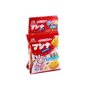 日本MORINAGA森永 儿童牛奶饼干 4包 52G