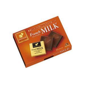 日本MORINAGA森永 卡丽德法国牛奶巧克力 21片