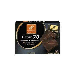 日本MORINAGA森永 卡丽德可可巧克力 21片