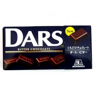 日本MORINAGA DARS苦味巧克力 42G