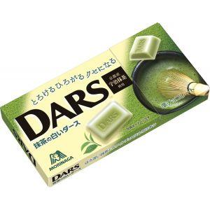 日本MORINAGA 抹茶夹心巧克力 12个 42G