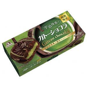 MORINAGA UJI MATCHA GATEAU CHOCOLATE