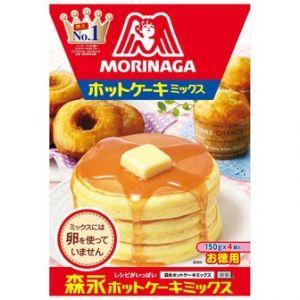 日本MORINAGA森永 松饼蛋糕华夫饼粉 4份*150G