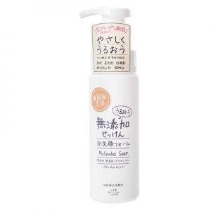 日本MAX 无添加生活 水润洗颜泡沫