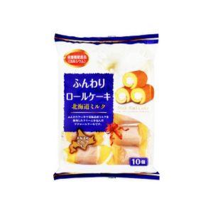 日本YAMAUCHI 北海道牛奶蛋糕卷 10个