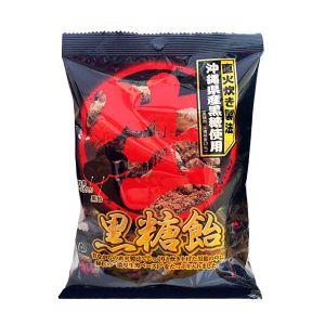 日本RIBON 黑糖味糖果 128G