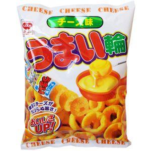 日本RISKA 美味轮香浓粟米圏 香浓芝士味 75g