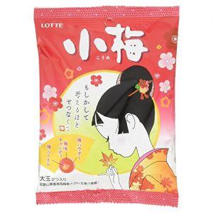 日本LOTTE乐天 日式梅子糖 67g