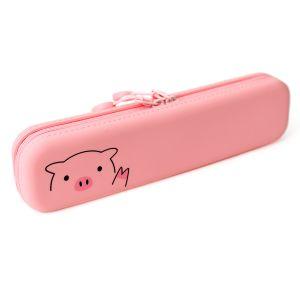 PuniLabo Slim Zipper Pouch Pig G-143