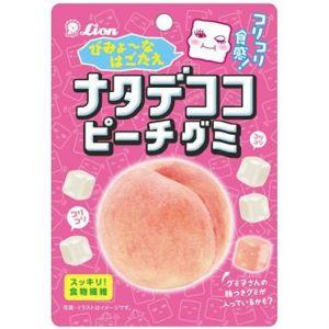 日本LION狮王 桃子味果汁方块软糖果 44g