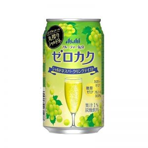 日本ASAHI朝日 无酒精葡萄味气泡饮料 350ML