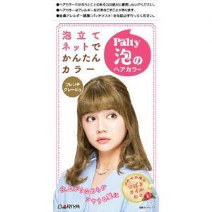 日本DARIYA黛莉亚 PALTY泡沫染发剂 #法式灰