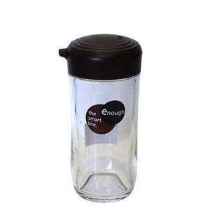 日本INOMATA 塑料调味罐家用餐厅餐桌调料瓶油壶烧烤香料瓶子4oz容量 #褐色