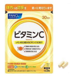 日本FANCL芳珂 天然果实维生素C及维生素P 30天用90粒