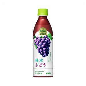 日本KIRIN麒麟 小岩井葡萄味饮料 430ML