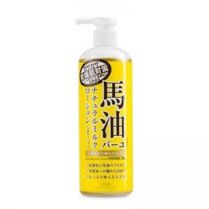 日本COSMETEX ROLAND罗兰得 LOSHI北海道马油护肤滋润乳液485ml