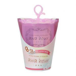 日本AWA HOUR 洗面奶起泡杯 粉色 1件入