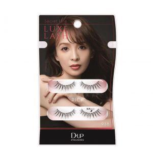 日本DUP 舞川亚郁空气感裸妆敲自然气质假睫毛 2对入 938浓密尾长款
