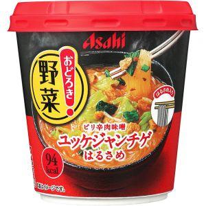 日本ASAHI朝日 香辣牛肉味噌杯面 27G