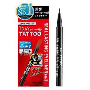 日本K-PALETTE 1DAY TATTOO 极细防水眼线液笔 不晕好卸 #深黑色 单支入