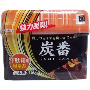 日本KOKUBO小久保 活性炭强力干燥除臭剂 鞋柜使用 150g