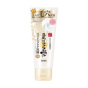日本SANA豆乳年龄对抗抗衰清洁毛孔丰富泡沫洁面乳 150g