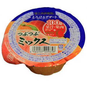日本ZAO DESSERT 什锦100%果汁果肉果冻 160G