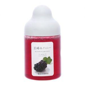 日本SUGI BEE GARDEN杉养蜂园 果汁蜂蜜 葡萄味 300G