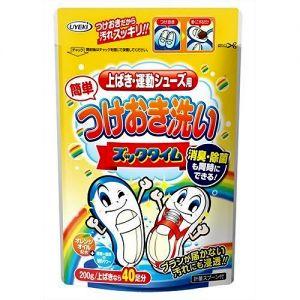 日本UYEKI小白鞋运动鞋布网面球鞋橙油配合去污清洁粉 200g
