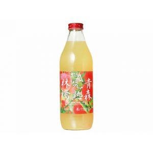 日本SHINY 青森完熟林檎苹果汁瓶装 1L