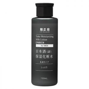日本菊正宗日本酒男士用无香料保湿化妆水 150ml 两款选