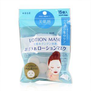 日本KOSE高丝 化妆水纸膜 15枚