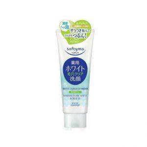 日本本土Kose/高丝softymo薏仁美白去角质洗面奶洁面膏 150g