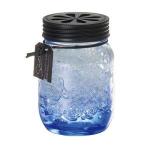 日本CARMATE快美特 海岸风果冻精致玻璃瓶香水空气清新剂 #海水清香 130ml