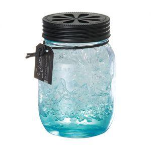 日本CARMATE快美特 海岸风果冻精致玻璃瓶香水空气清新剂 #海洋天空 130ml