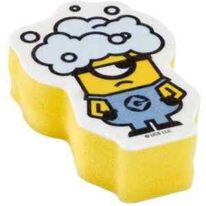 日本SKATER小黄人竖式两层构造去污起泡厨房海绵 一个装