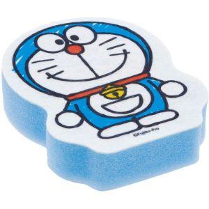 日本SKATER Doraemon蓝色两层构造去污起泡厨房海绵 一个装