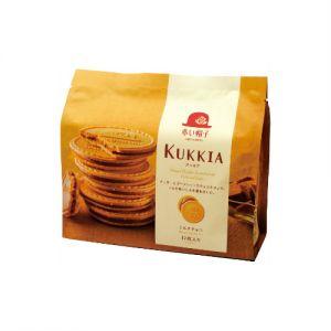 日本KUKKIA红帽子 牛奶巧克力法兰酥夹心饼干 12枚入 93g