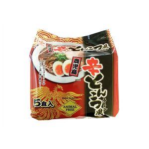 日本HIGASHIMARU 豚骨拉面 辣味 78G*5份