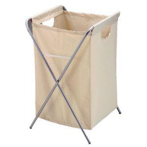 Abel square laundry basket (Ivory)