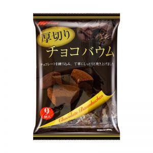 日本MARUKIN丸金 切片年轮蛋糕 巧克力 209g
