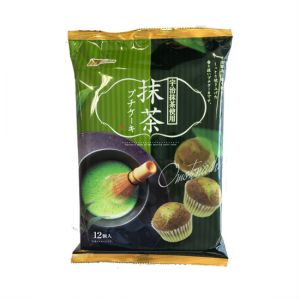 日本MARUKIN 宇治抹茶杯子蛋糕 12G 204G