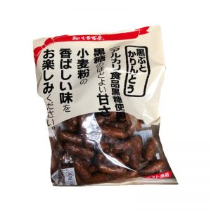 日本HYAKKEI 黑糖米果条 155G