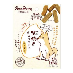 PETZ ROUTE ROASTED RICE CHEESE BITS M-48
