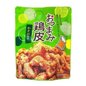 日本NEOFOODS竹森 油炸鸡皮 芥末味 50G