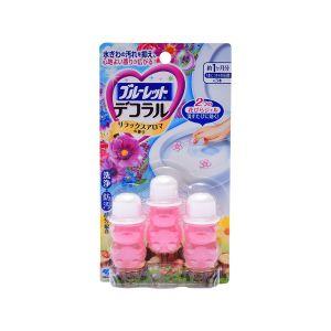 日本KOBAYASHI小林制药 花瓣式马桶清洁凝胶 #优雅花香 3枚入 22.5g