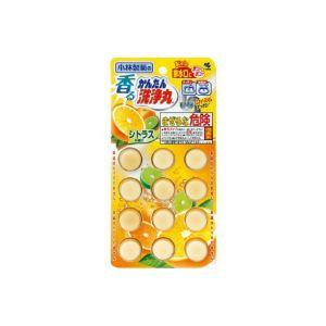日本KOBAYASHI小林制药 管道清洗丸 #柑橘香 12个