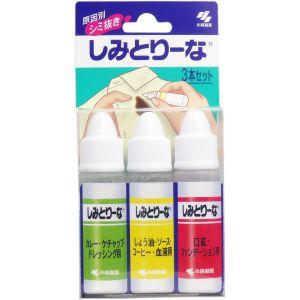 日本KOBAYASHI小林制药 特殊强效配方衣服去污笔 10ml*3