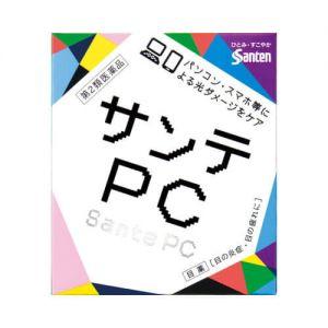 日本SANTEN参天 FX眼药水 PC电脑手机抗蓝光眼药水 12ml