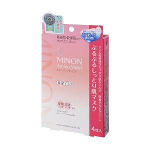 日本第一三共 MINON氨基酸保湿面膜 敏感肌用 4片入